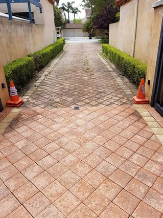 Block Paving Pressure Cleaning Services