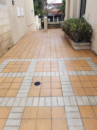 After Paving Pressure Washing Is Cleaned